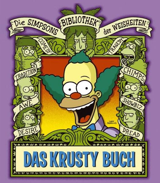 Die Simpsons: Bibliothek der Weisheiten - Das Krusty Buch