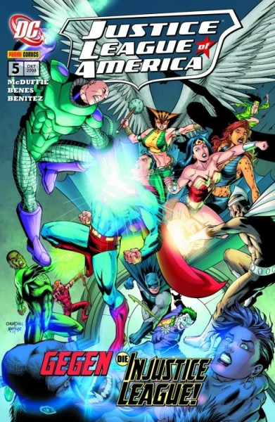 Justice League of America 5: Unrecht für Alle