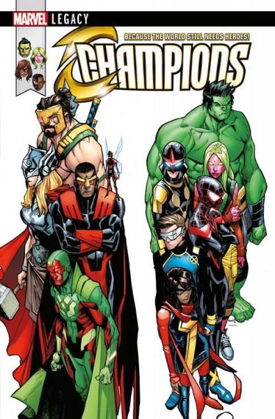 Marvel Legacy: Avengers/Champions - Der Untergang Hardcover