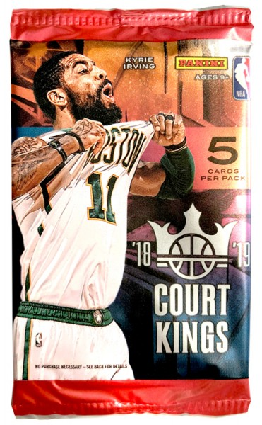 NBA 2018-19 Court Kings Trading Cards - Pack