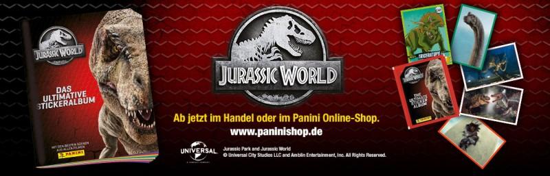 Jurassic World Sticker & Cards