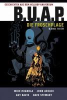 Geschichten aus dem Hellboy-Universum: B.U.A.P. - Die Froschplage 4 Cover