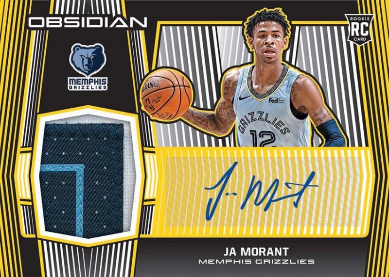 NBA Obsidian Basketball Trading Cards 2019/20 - Ja Morant