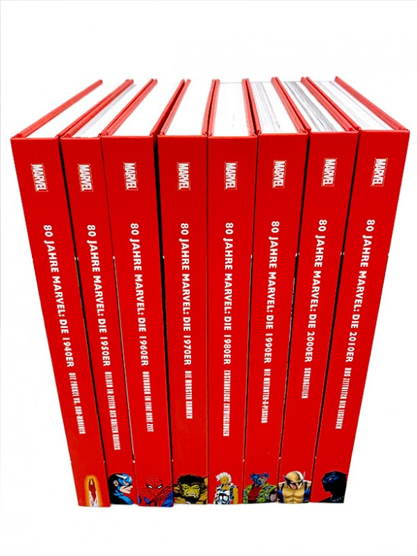 80 Jahre Marvel Comics in edlen Hardcovern