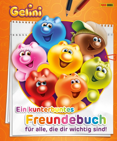 Gelini - Ein kunterbuntes Freundebuch
