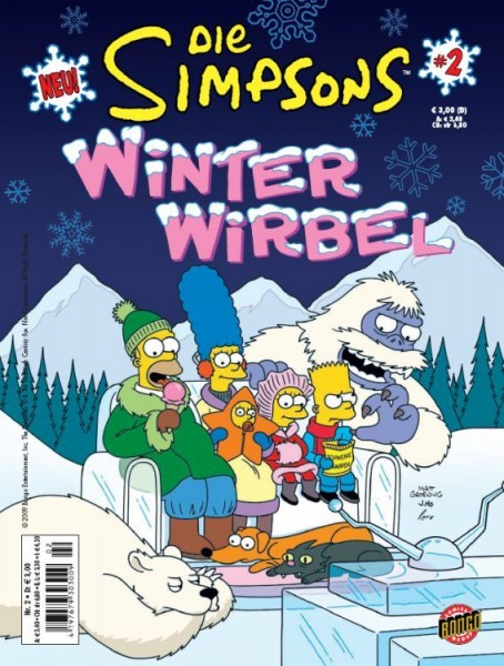 Simpsons: Winter-Wirbel 2