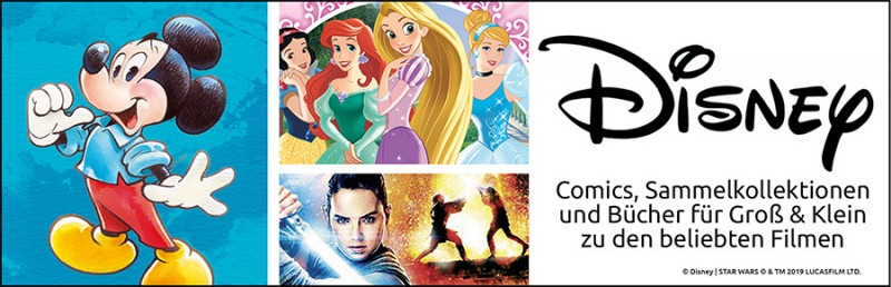 Disney Highlights bei Panini mit Micky, und Disney und Star Wars: Familienspass