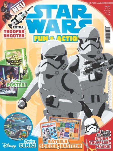 Star Wars Fun & Action Magazin 02/20 Cover