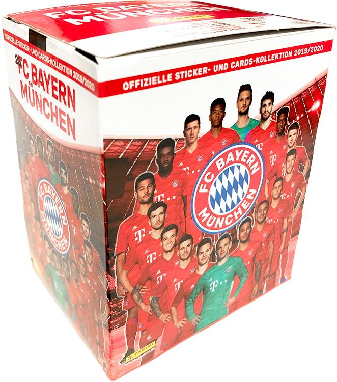 Cards Kollektion 2019//20 Album Panini FC Bayern München Sticker 10 Tüten
