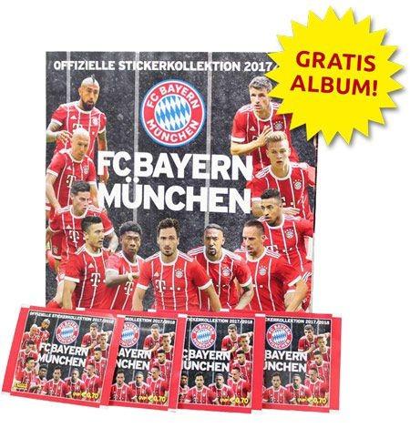 FC Bayern München 2017/2018 Stickerkollektion - Bundle 3