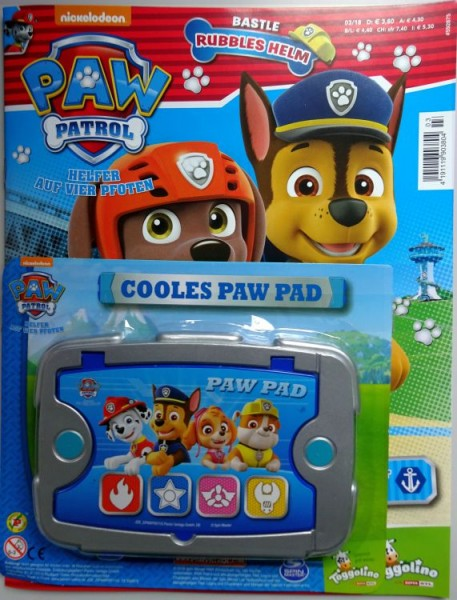 Paw Patrol Magazin 03/18