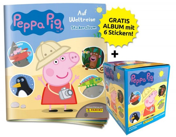 Peppa Pig Stickerkollektion - Sticker-Starter-Bundle