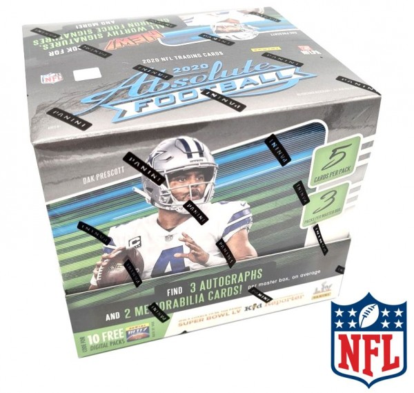 Absolute Football 2020 Trading Cards - Hobbybox