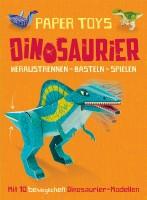 Paper Toys - Dino Bastelbuch