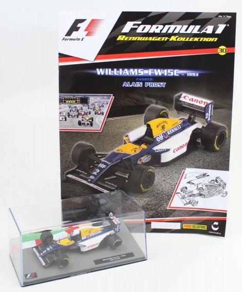 Formula 1 Rennwagen-Kollektion 30: Alain Prost (Williams Fw 15 C)