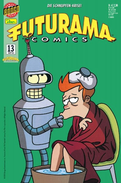 Futurama Comics 13