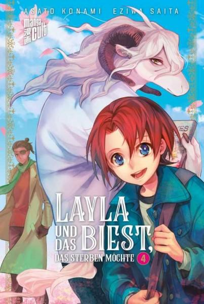 Layla und das Biest, das sterben möchte 4 Cover