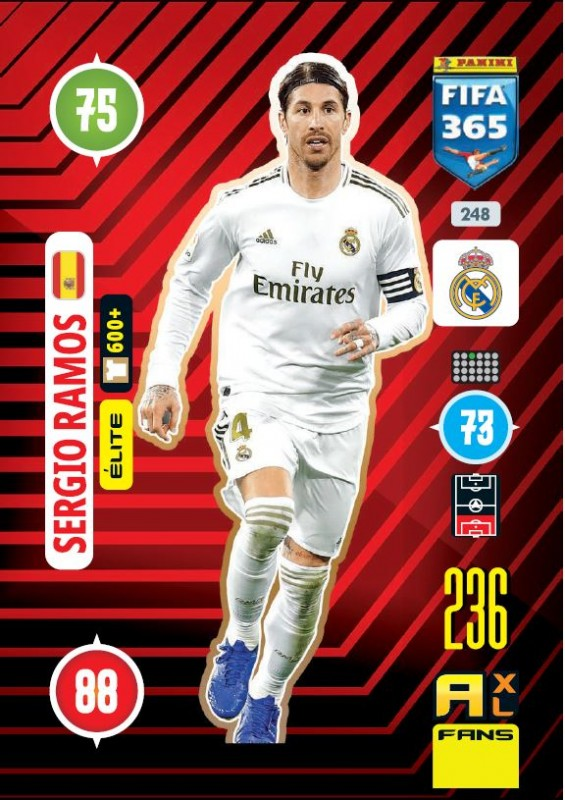Panini FIFA 365 Adrenalyn XL 2021 - Sergio Ramos