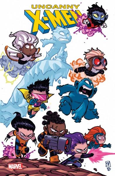 Uncanny X-Men 1: Schöne neue Welt Variant