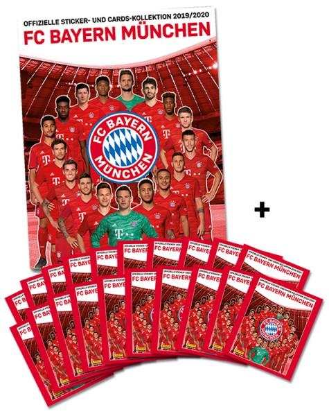 FC Bayern München: Offizielle Sticker- und Cards-Kollektion 2019/2020 - Sammelbundle