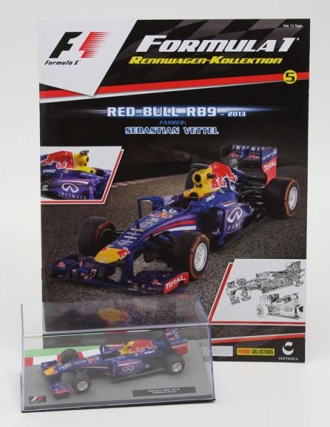 Formula 1 Rennwagen-Kollektion 5: Sebastian Vettel (Red Bull RB9)