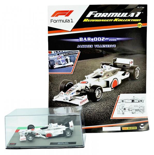 Formula 1 Rennwagen-Kollektion 85: Jacques Villeneuve (Bar 002)