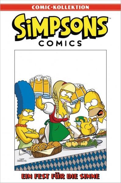 Simpsons Comic-Kollektion 16: Ein Fest für die Sinne Cover