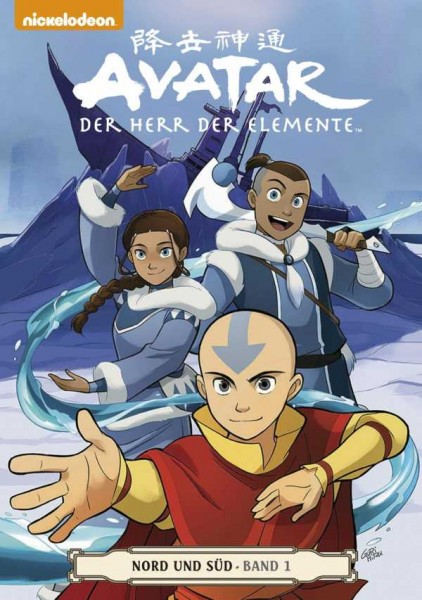 Avatar - Der Herr der Elemente 14: Nord und Süd 1 - Cover