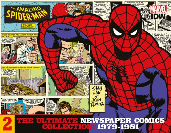 Spider-Man Newspaper Comics Collection 2 Cover