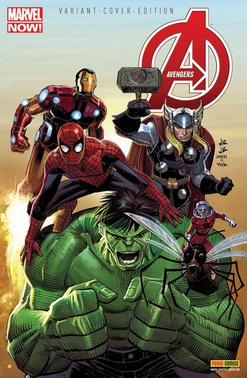 Avengers 12 (2013) Comic Salon...