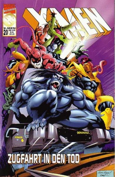 X-Men 20: Zugfahrt in den Tod