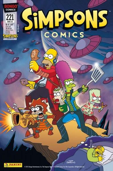 Simpsons Comics 221