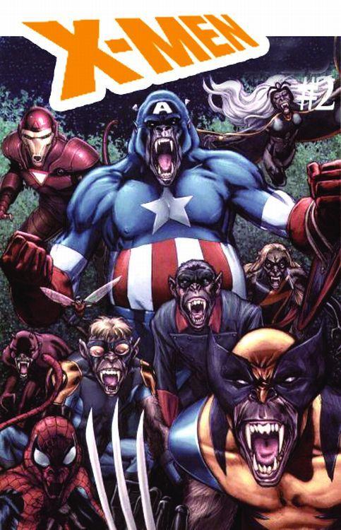 X-Men 106 Variant - Comic Action 2009
