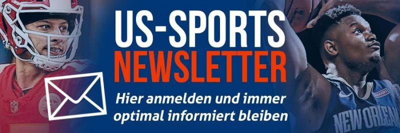 US Sport Newsletter - Panini - Hier anmelden