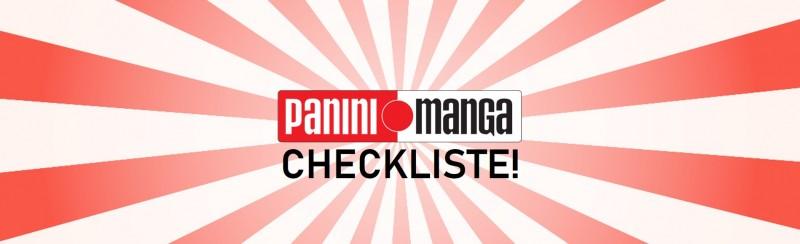 Checkliste Panini Manga Banner
