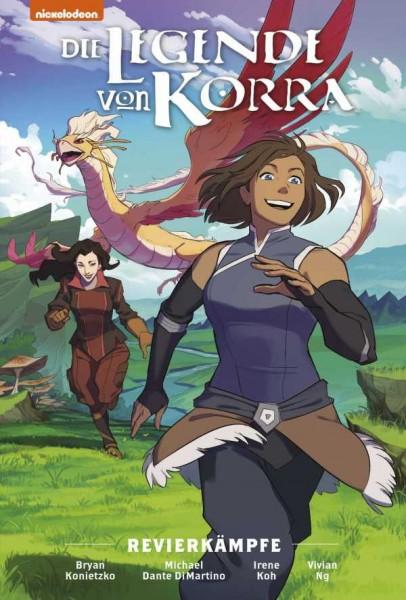 Die Legende von Korra - Premium 1: Revierkämpfe Cover