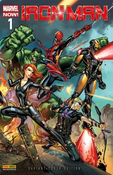 Iron Man/Hulk 1 Variant