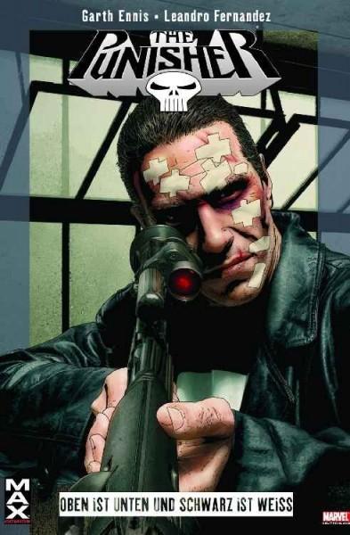 Max 12: Punisher - Oben ist unten und schwarz ist weiss