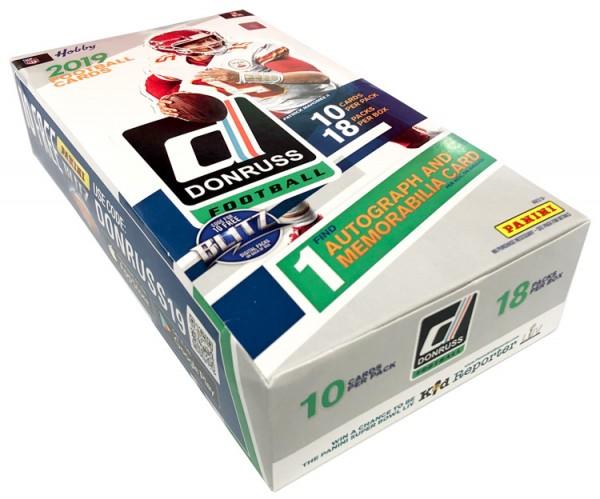 NFL 2019 Donruss Football Trading Cards - Hobbybox