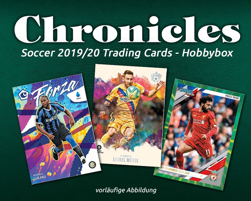Chronicles Soccer 2019/20 Trading Cards - Hobbybox