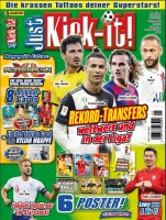 Just Kick It - Magazin 06/20 - Cover