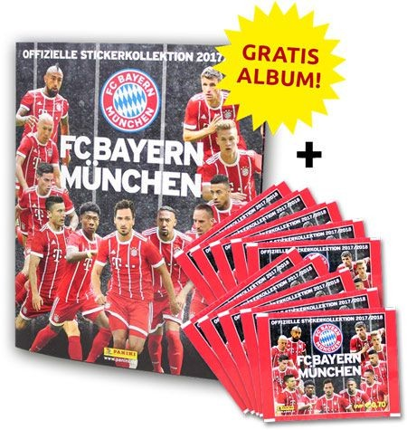 FC Bayern München 2017/2018 Stickerkollektion - Bundle 2
