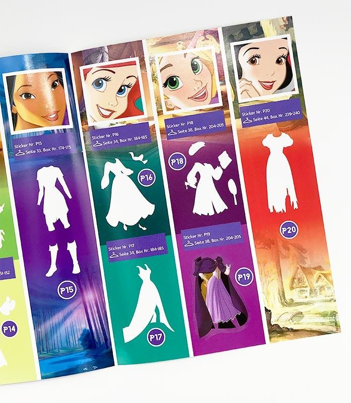 Disney Prinzessin - Das Herz einer Prinzessin Folder Innenansicht