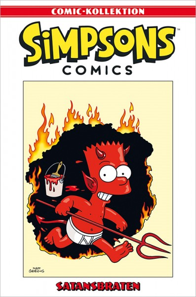 Simpsons Comic-Kollektion 67 Satansbraten Cover