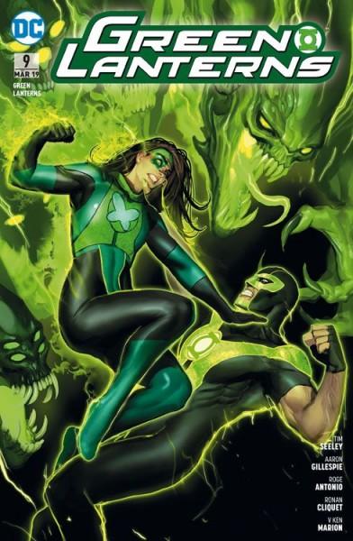 Green Lanterns 9: Geister der Vergangenheit