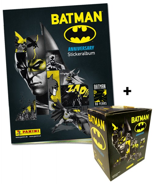 80 Jahre Batman Jubiläumskollektion - Dark-Night-Bundle