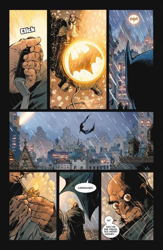 Batman 36 Blick in den Comic Vorschauseite