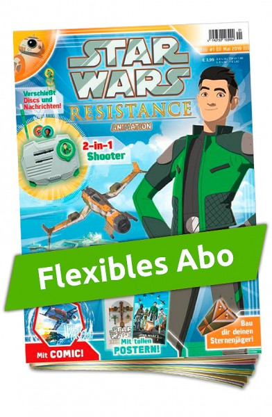 Flexibles Abo - Star Wars: Resistance