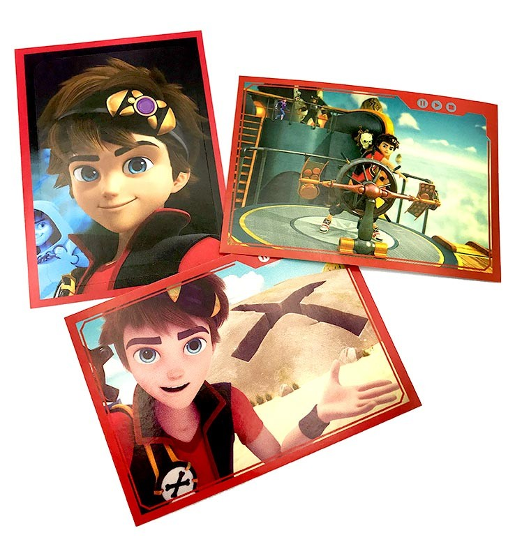 Zak Storm Super Pirate Stickerkollektion
