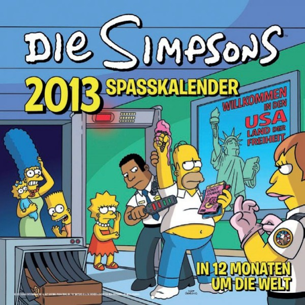 Simpsons - Wandkalender (2013)